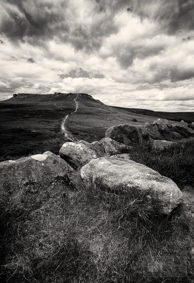 Peak District Monochrome