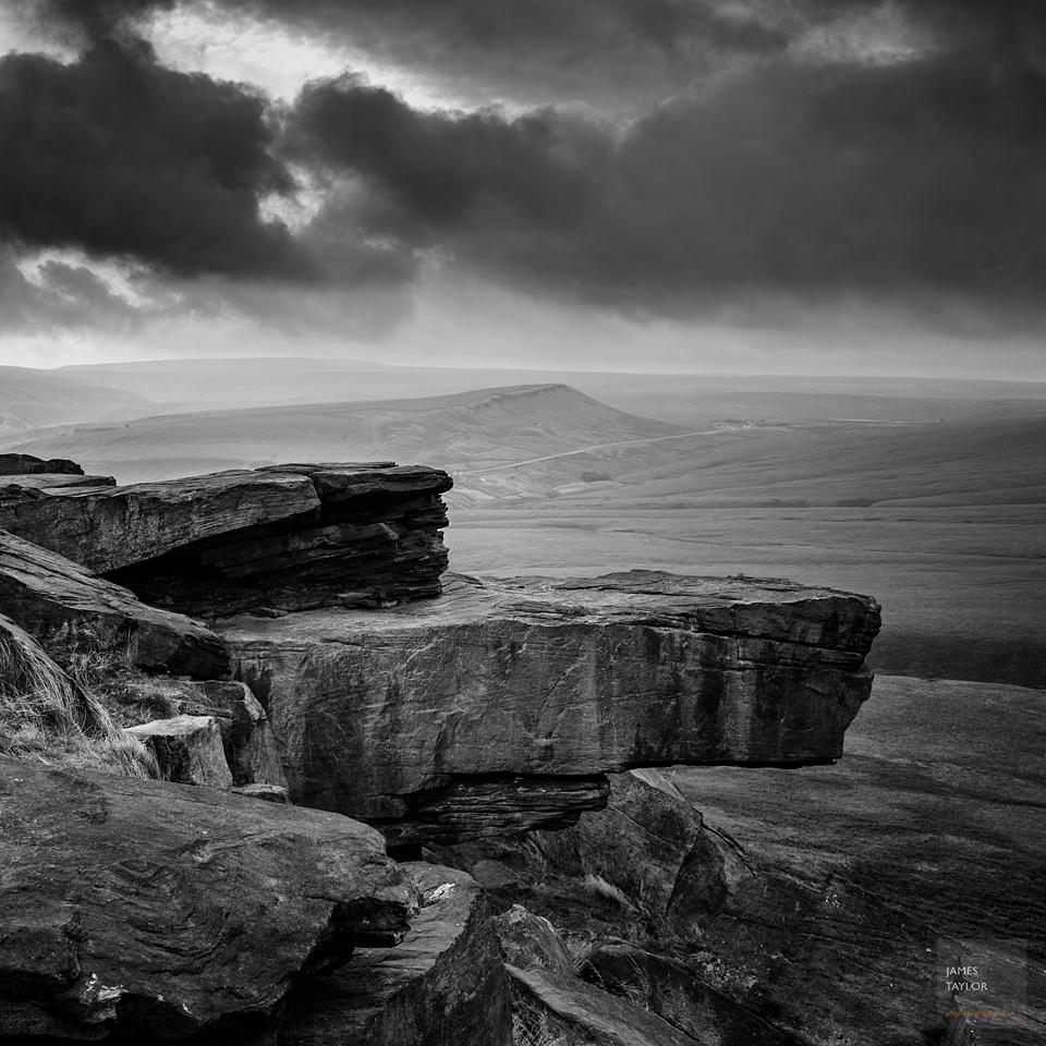 Storm looms over Marsden Moor