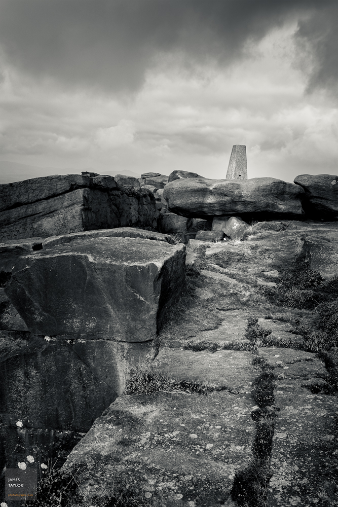 Trig-point on the horizon