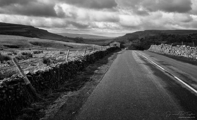 Yorkshire-Dales road to where