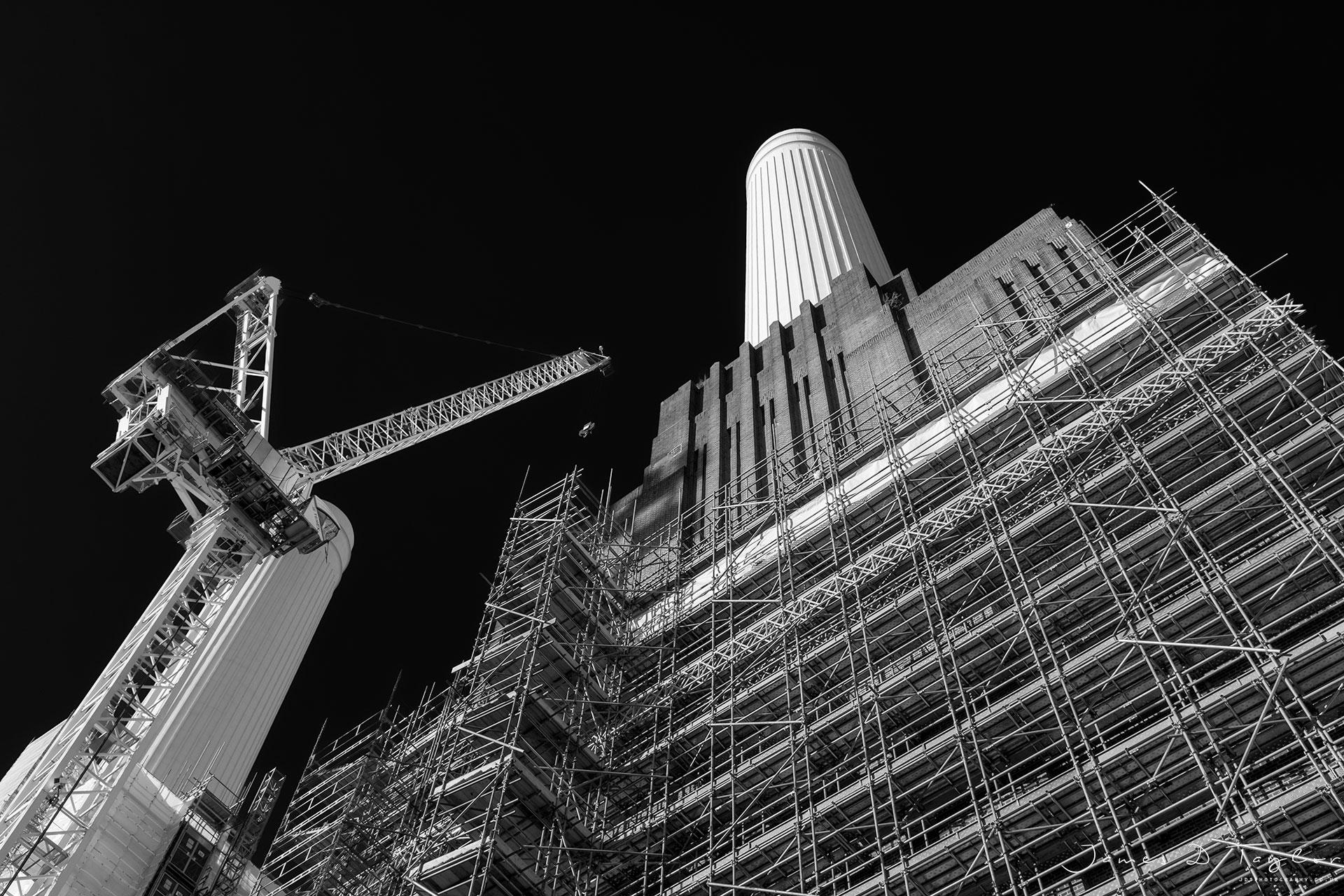 bnw scaffolding Battersea powerstation jdtphotgoraphy.co.uk